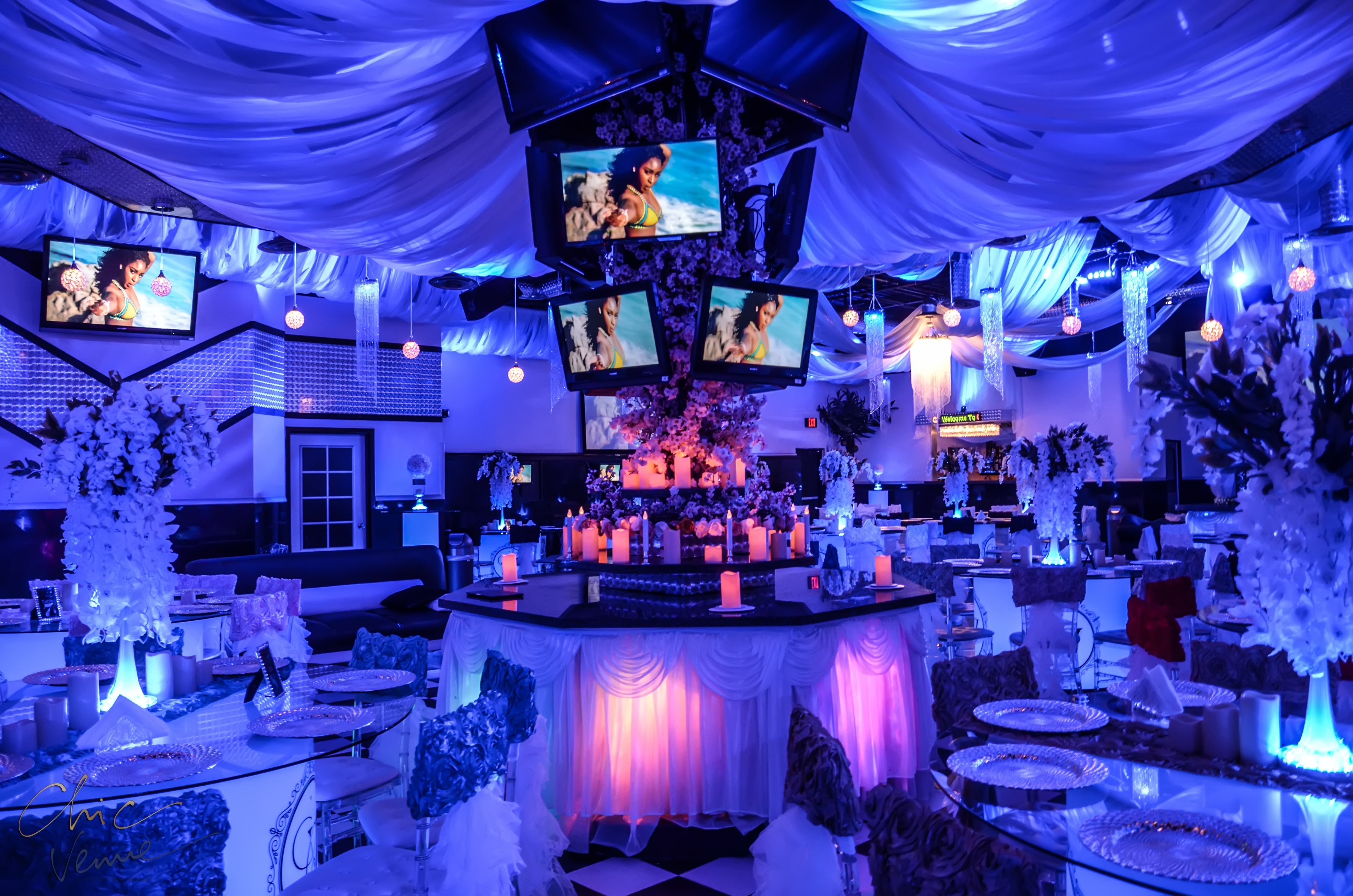Chic venue parties birthdays events wedding venue with chic venues brand new location junglespirit Choice Image